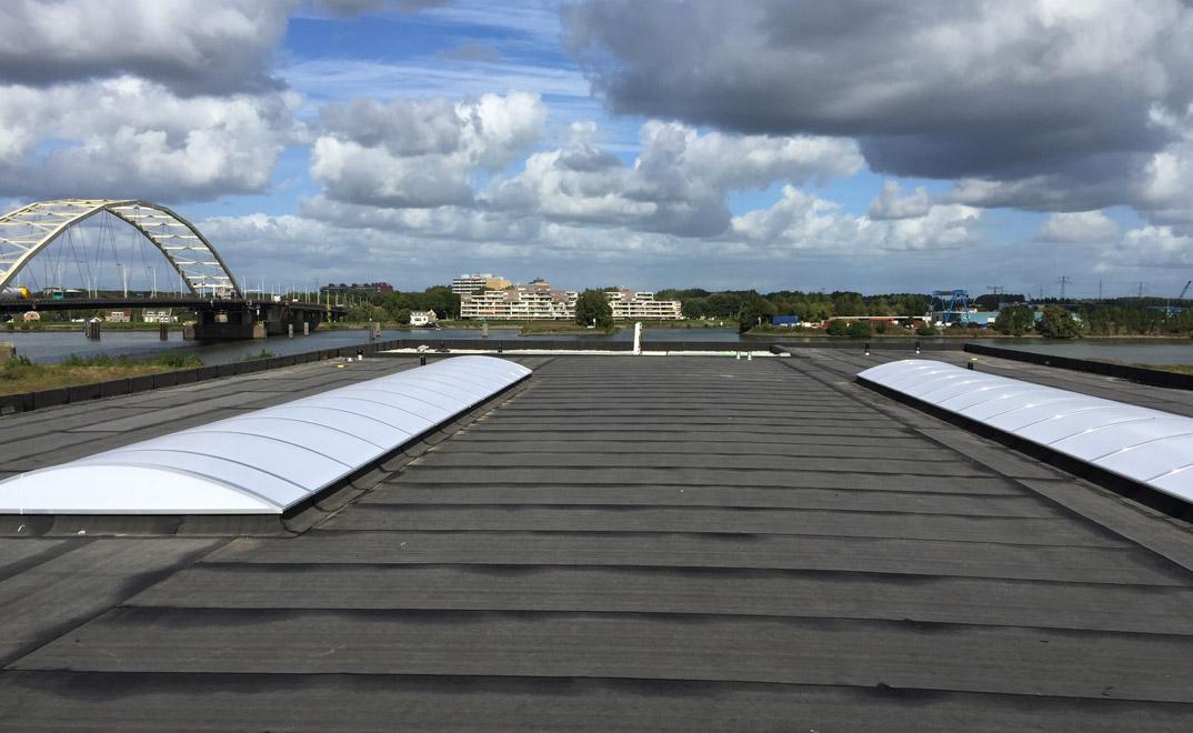 Dordrecht - renovatie dak bedrijfshal met bitumen